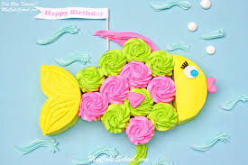 Fish Cupcake Cakea Blog Tutorial My Cake School