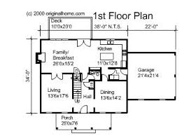 images about HOUSE PLANS on Pinterest   Center hall colonial    Center Hall Colonial Floor Plans   Bedroom Colonial House PLan