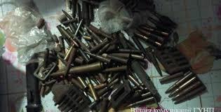 Покарання за незаконне поводження з бойовими припасами