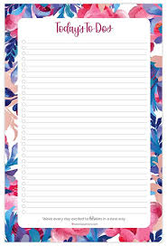 Daily Planner Sheets