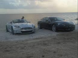 Pics Rick Ross X Drake X Chrissette Michelle Aston Martin Music Video Shoot