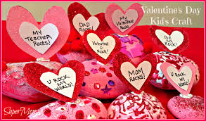 Valentines Day Quotes For Preschoolers Valentines Day Easy Craft For Kids Conversation Rocks