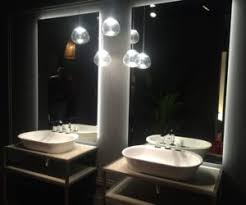 bathroom vessel sinks. vessel sinks are also very versatile. they can be installed above the counter or partially recessed, come in lots and of different bathroom m