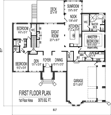 Contemporary Designs and Layouts of Bedroom House Floor Plans    Gothic Storey Bedroom SF House Plans Bath Basement Garage New York Evansville