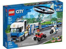 Nơi bán Mô hình đồ chơi lắp ráp Lego City - Trực thăng vận tải cảnh sát  60244 ( 317 chi tiết ) giá rẻ nhất tháng 06/2021