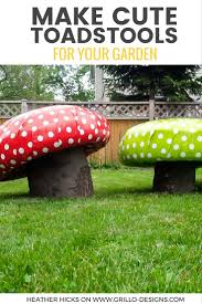 learn how to make these super cute diy garden stools using tree trunks and tyres