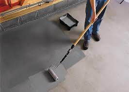 painting a cement floorpaint cement floor black  Painted Cement Floors Ideas  Home