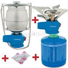 Buy Kit Lamp And Gas Stove Campingaz Plus Cartridge Cv300