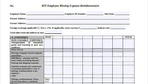 Business Expense Form Template Free Stunning Sample Employee Expense Reimbursement Forms 48 Free Documents In
