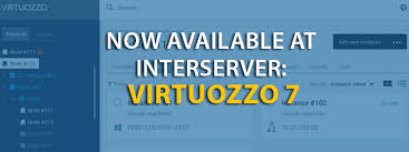 virtuozzo now available at interserver virtuozzo 7 interserver webhosting