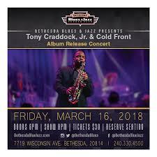 Tony Craddock Jr H2o Album Release Concert Bethesda