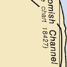 Map And Nautical Charts Of La Conner Swinomish Channel Wa