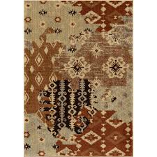 orian rugs southwest patc indoor southwestern area rug common 8 x 11 actual