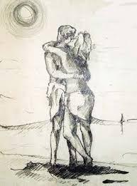 Risultati immagini per romantico saluto di due amanti