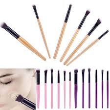 6pcs professional eyeshadow eyebrow blending brush set eye makeup brushes uk