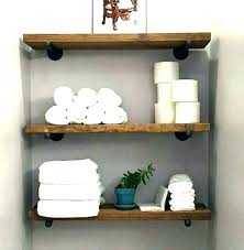 pottery barn wall shelves shelf studio pics with fabulous bathroom mounted po