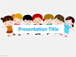 Free Children Together Powerpoint Template Download Free