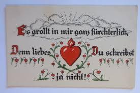 Sprüche Spruch Liebe Herz 1908 Verse Von G Schultz 67452