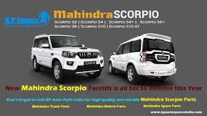 new car releases this yearNew Mahindra Scorpio Facelift is all Set to Release this Year