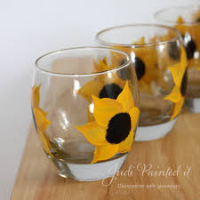 Sunflower Kitchen Sunflower Kitchen Coolers 12oz Hand Painted By Judi Painted It
