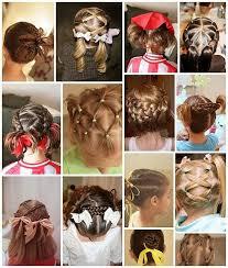 Cute Little Girl Hair Styles Ucesy Dívčí účesy Vlasy A účesy