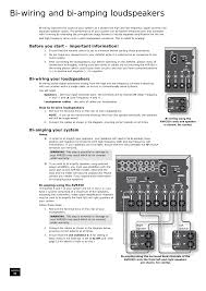 bi wiring diagram wiring library bi wiring and bi amping loudspeakers before you start important information