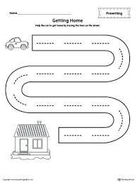 Penmanship Practice Worksheets Sentence Tracing Handwriting