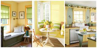 Yellow Wall Kitchen Yellow Decor Decorating With Yellow