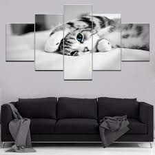 Canvas <b>Modular Picture</b> Wall Artist Residence Decoration ...