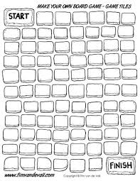 Black Template Blank Board Game Template Printables Make Your Own Board Game Pdf