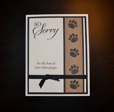 Sympathy Card Pet Loss Pet Sympathy Card Loss Of Pet Card Dog By Lizzyjaneboutique Card