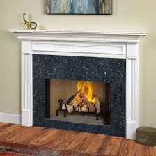 traditional wood mantels