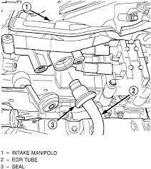repair guides engine mechanical components upper intake pt cruiser exhaust size at Pt Cruiser Exhaust Diagram