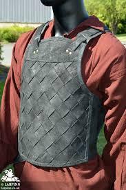 rfb viking leather armour black