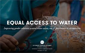 ensuring gender responsive climate change adaptation undp photo essay equal access to water
