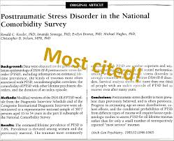 the most influential papers on posttraumatic stress trauma which