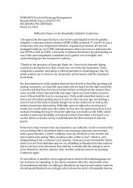 Example Of Essay Report Reflective Report Examples Essay Aut Library S Business