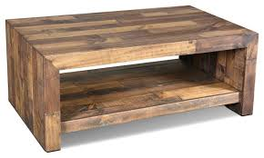 Fulton Rustic Solid Wood Coffee Table Rustic Coffee Tables Idea