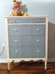 painted baby furniture. Dresser For Babies Room Painted In Chalk Paint, Waxed With Paste Wax Then Lightly Distressed Baby Furniture