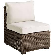 pier outdoor chair cushions unique high back elegant echo beach latte piece sectional furniture waterproof cushion