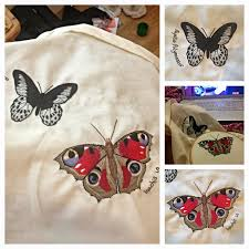 daisy damask current project embroidered butterflies and the friday 20 2013