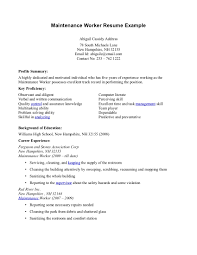 Resume Sample For Construction Worker Example Rn Resume