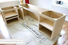 diy office desk epic standing with shelf amazing easy organizer blueprints e99 blueprints