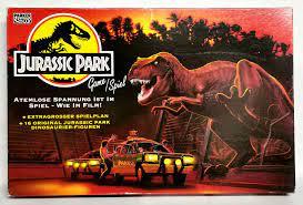 """Jurassic Park 1993 Parker 1414100 - ab 7 Jahren - für 2 ..."""" – Spiel  gebraucht kaufen – A02ljWWH41ZZO"""