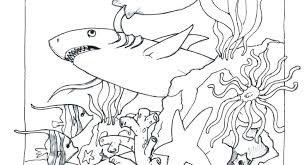 Ocean Coloring Pages For Preschool Ocean Coloring Pages For