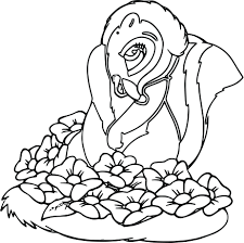 Best Of Flower The Skunk Coloring Pages Gallery Printable Coloring