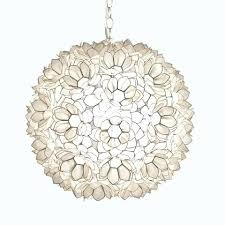 found fancy capiz shell lighting outdoor