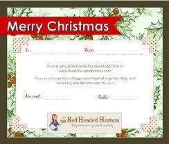 free printable christmas gift certificate templates free printable christmas gift certificate template word