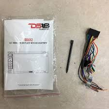 ds18 technologies dd652 6 2\u201d double din dvd player head unit for Wire Harness Schematic at Ds18 Dd652 Wire Harness