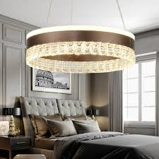 personality designers lighting brushed aluminum circular led chandelier tiered 1 light 2 light 3light